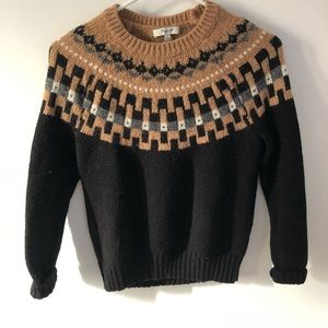 Madewell Modern Slope Sweater (Size Small)